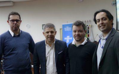 Chiavini & Santos participa de palestra com Erik Penna