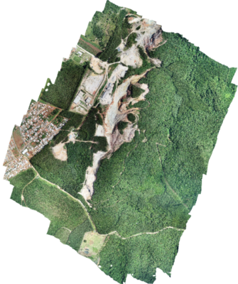 Atualização Topográfica de Mina por Meio de Utilização de Drone